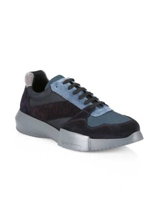 Armani Patchwork Sneakers