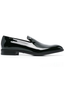 Armani patent leather loafers