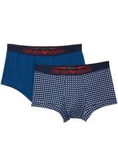 Armani Pattern Mix 2-Pack Trunks