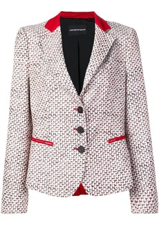 Armani patterned blazer jacket