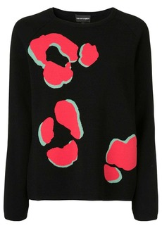 Armani Paw print jumper
