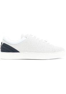 Armani perforated Tennis sneakers
