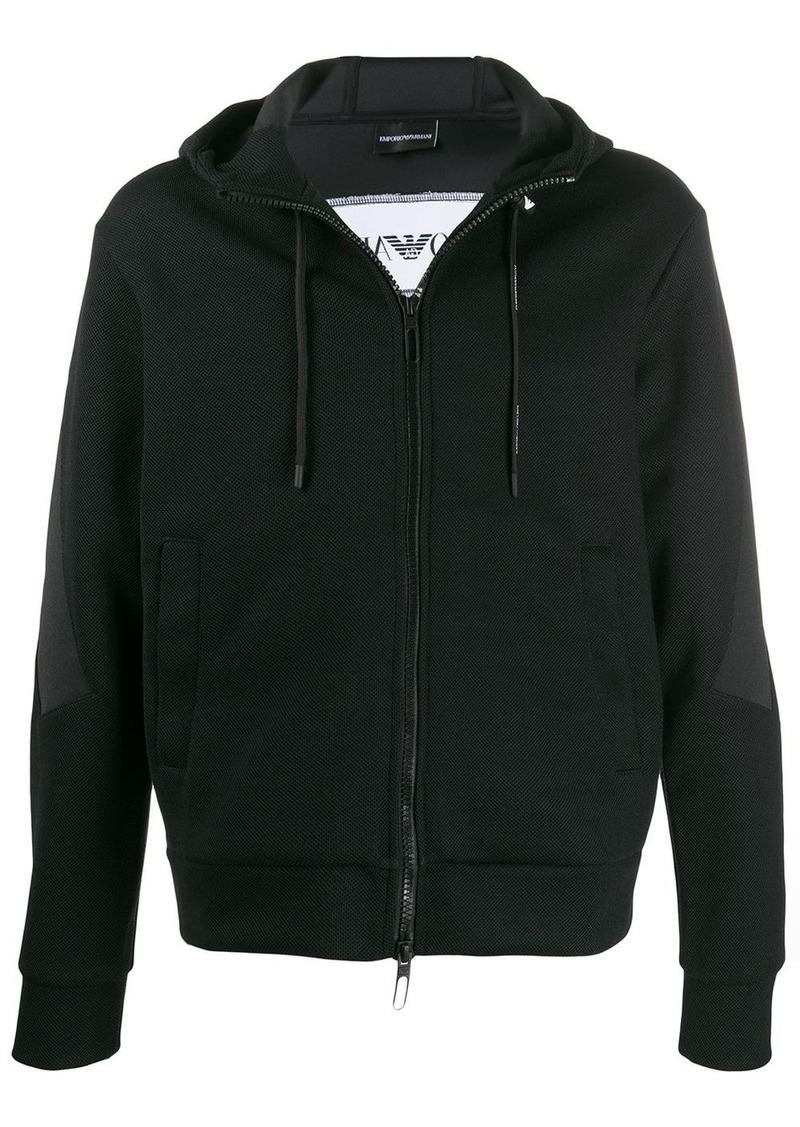 Armani performance mesh hoodie
