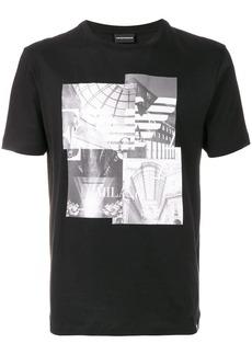 Armani photo-print T-shirt