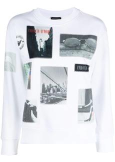 Armani photograph-print sweatshirt