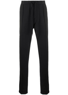 Armani piped slim-fit track pants