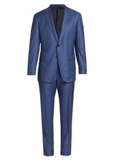Armani Plaid Wool Suit