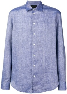 Armani plain button shirt