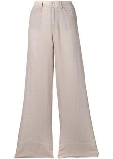 Armani plain palazzo pants