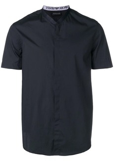 Armani plain shortsleeved shirt