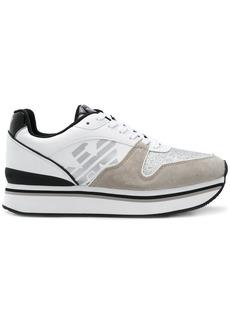 Armani platform runner sneakers
