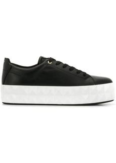 Armani platform sneakers