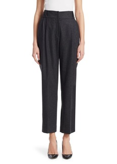 Armani Pleated Flannel Pants