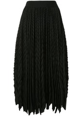 Armani pleated midi skirt