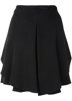 Armani pleated mini skirt