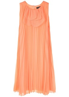 Armani pleated shift dress