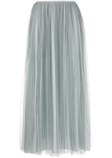 Armani pleated tulle skirt