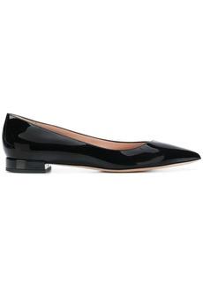 Armani pointed toe ballerina flats