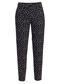 Armani Polka Dot Stretch Cotton Trousers