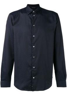 Armani printed button down shirt