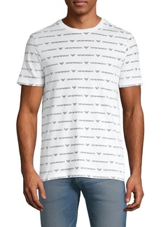 Armani Printed Cotton Tee