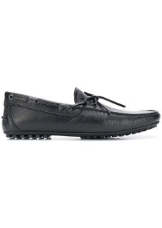 Armani printed leather driving shoes