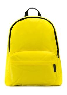 Armani printed logo backpack