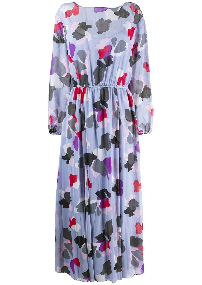 Armani printed maxi dress