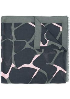 Armani printed scarf