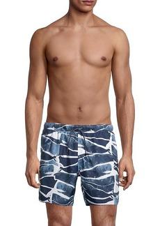 Armani Printed Swim Shorts