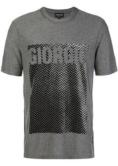 Armani printed T-shirt