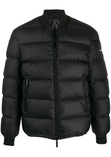 Armani printed 'The Eagle Brand' padded jacket