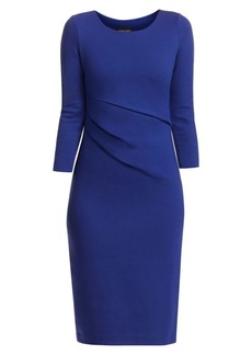 Armani Punto Milano Stretch Ruched Dress