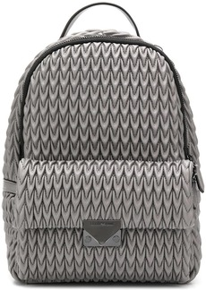 Armani quilted drop backpack