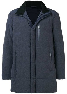 Armani quilted zipped jacket