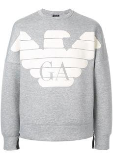 Armani R-EA-MIX logo sweatshirt