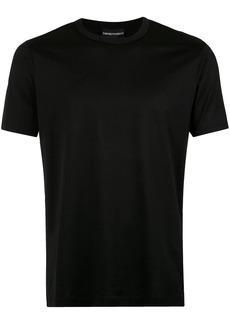 Armani rear logo print T-shirt