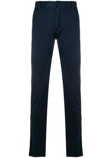 Armani regular chino trousers