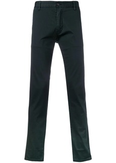 Armani regular chino trousers
