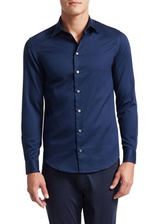 Armani Solid Sports Shirt