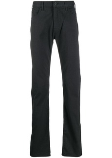 Armani regular fit trousers