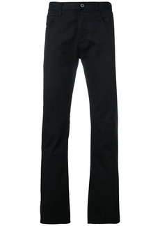 Armani regular slim chinos