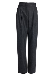 Armani Relax-Fit Flannel Trousers