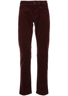 Armani relaxed-fit straight-leg trousers