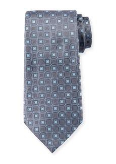 Armani Retro Pattern Silk Tie