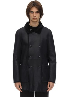 Armani Reversible Double Breasted Coat