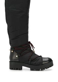 Armani ridged sole boots