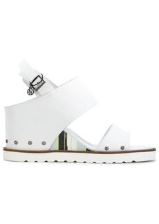 Armani ridged sole sandals