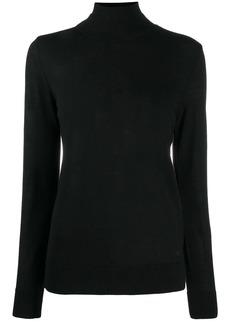 Armani roll neck fine knit jumper