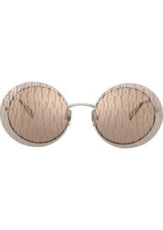 Armani round frame sunglasses